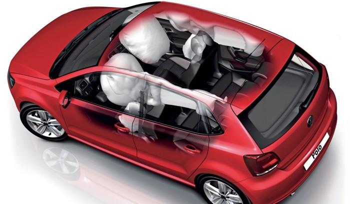 Tipos de airbags en los coches