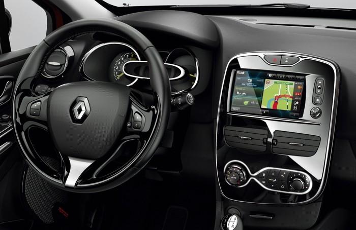 Pantalla táctil en un Renault Clio
