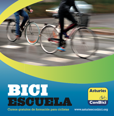 Biciescuela, cursos gratuitos para formación de ciclistas