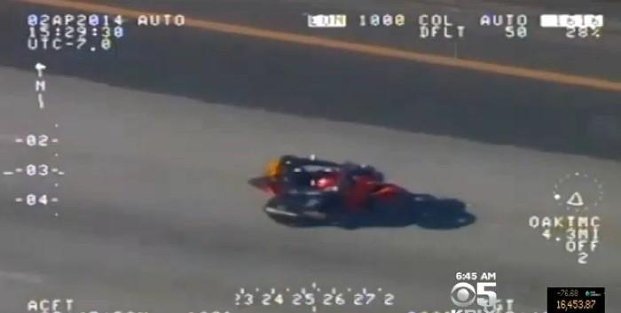 """""""Me pillaron a 200, pero eso es culpa de la moto"""""""