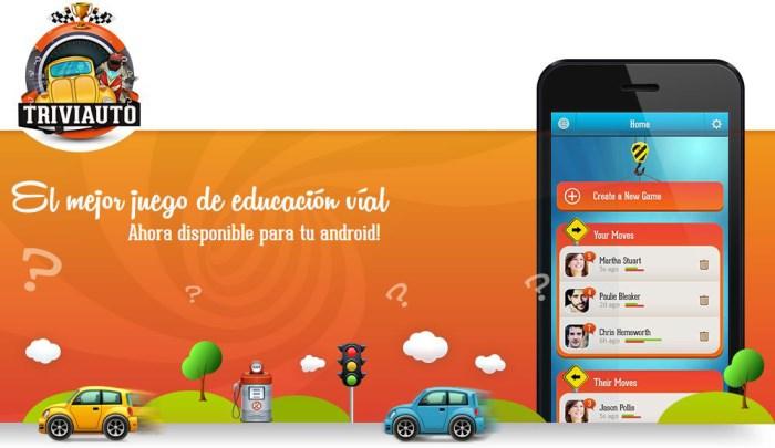 Triviauto, una app para consolidar los conocimientos del teórico de conducir