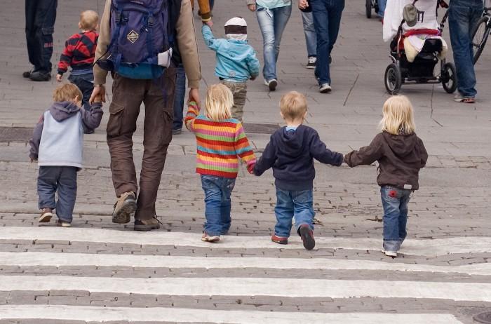 Niños en la calle: el principio de incertidumbre
