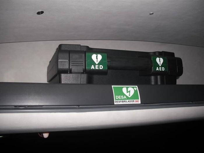 ALSA, primera empresa de autobuses en equipar desfibriladores