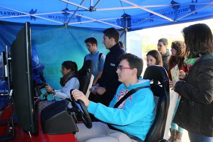 Plan Michelin de Seguridad Vial para jóvenes: en plena ebullición en los campus de Madrid