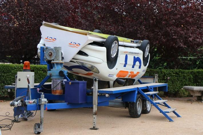 Crash Attack, Plan de Seguridad Vial para jóvenes de Michelin