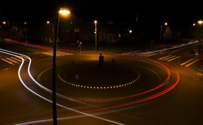 Circular en rotondas DGT