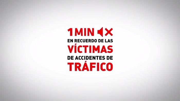 Guardemos un minuto de silencio en reconocimiento a las víctimas de la siniestralidad vial