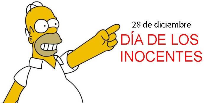 Hoy es el Día de los Inocentes; y mañana, también