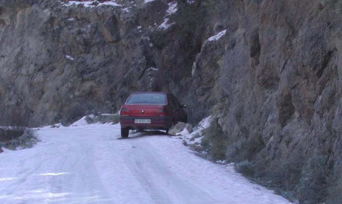 Conducir en invierno: cuidado con la nieve