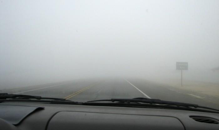 Conducir en invierno: cuidado con la niebla