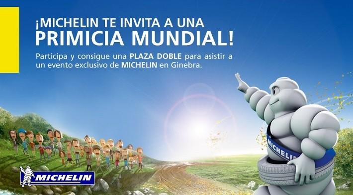 Si tienes amigos, entre hoy y mañana puedes conseguir un viaje con Michelin a Ginebra