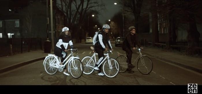 Volvo Life Paint: buscando cero atropellos de ciclistas