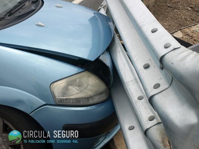 Los peligros de los márgenes de la carretera (y 5): barreras metálicas de seguridad