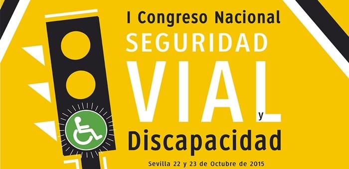 """I Congreso Nacional sobre """"Seguridad vial y Discapacidad"""" en Sevilla"""