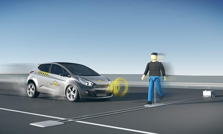 Los sistemas de detección de peatones, a prueba en Euro NCAP