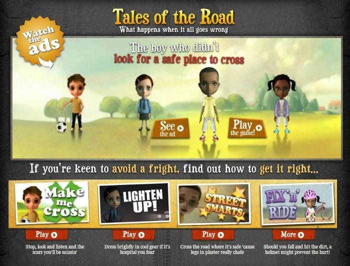 Algunos juegos online para aprender seguridad vial