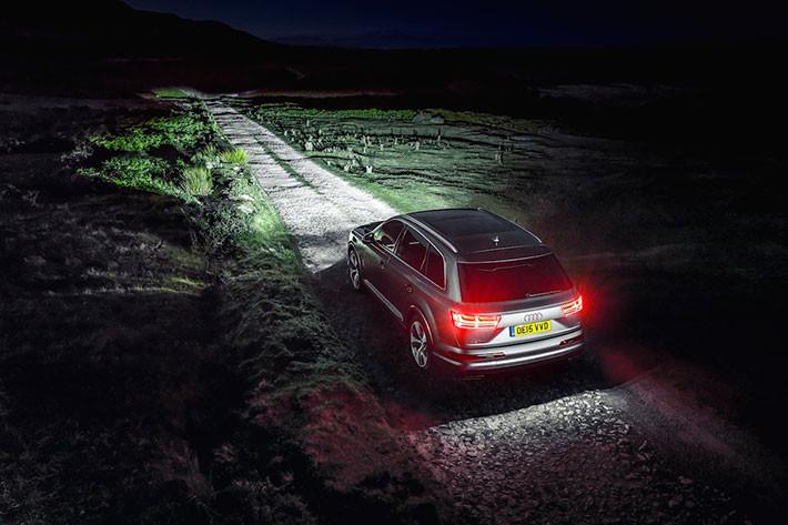 La iluminación en los coches