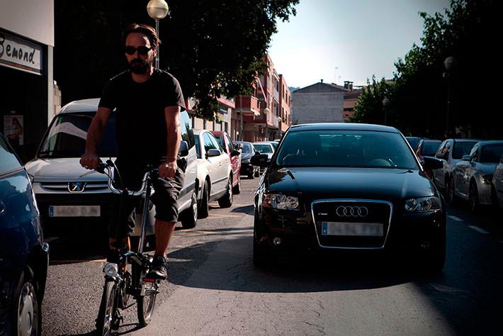 Accidentes de usuarios de biciciletas en ciudad