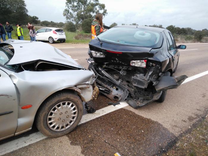 Accidente en Badajoz