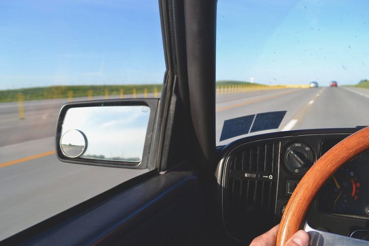 Espejo retrovisor del conductor
