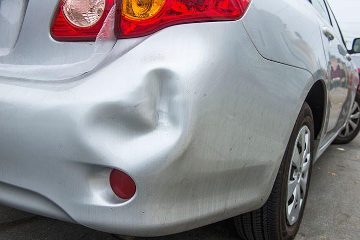 Accidentes leves en aumento