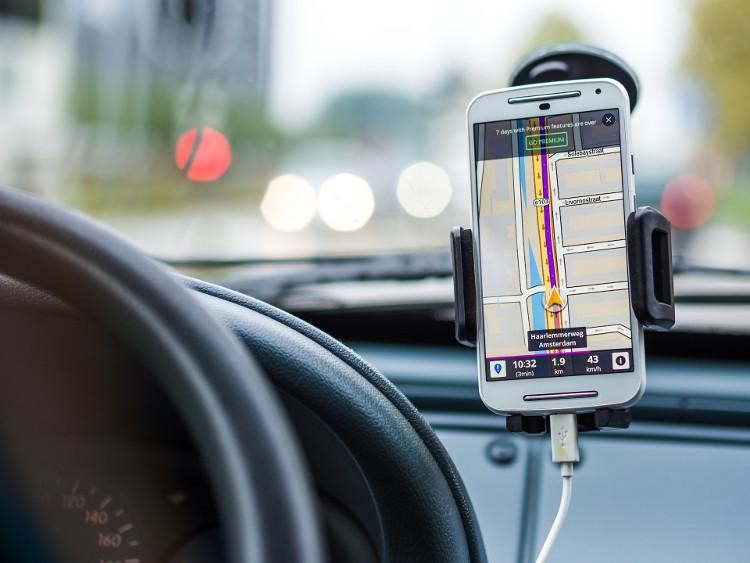 GPS en teléfono móvil