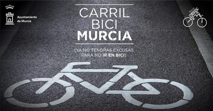 Carril bici murcia