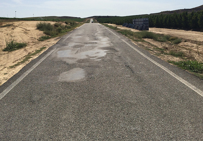 El estado de las carreteras españolas a examen. Spoiler: suspenso