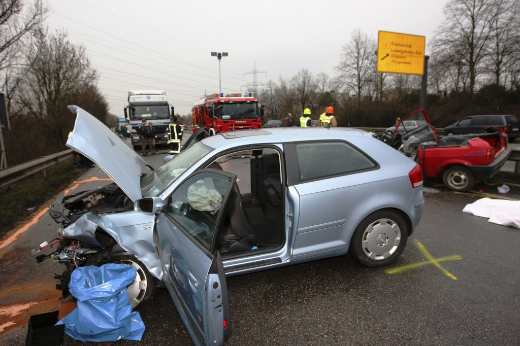 Audi A3 Accidente Frontal