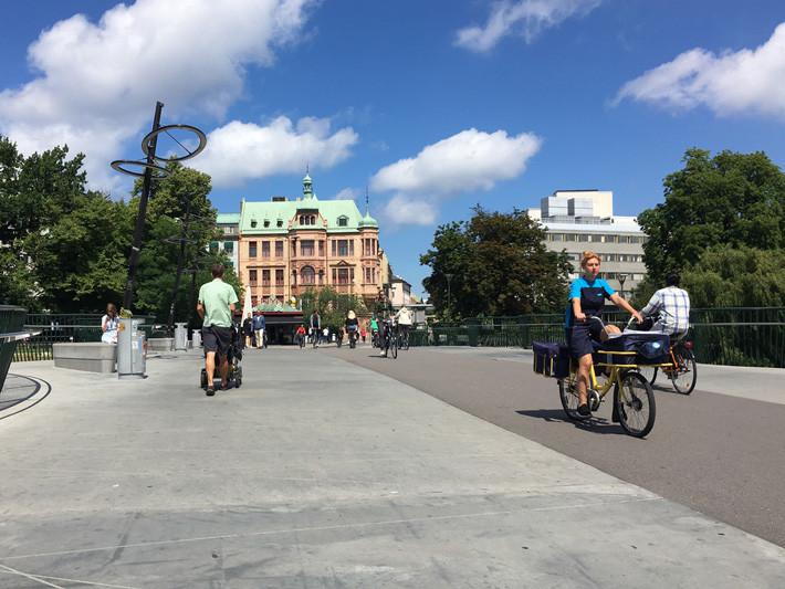 Con infraestructuras adecuadas se mejora la seguridad de los ciclistas: el ejemplo de Malmö