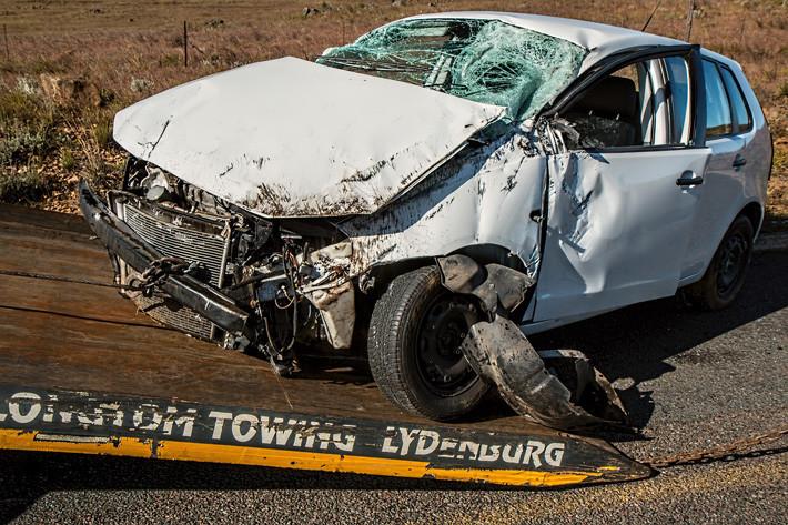 accidente tráfico grúa