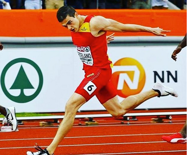 El atleta Bruno Hortelano