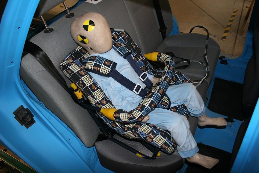 ¿Qué ocurre en un accidente si tu hijo no tiene bien instalada la sillita?
