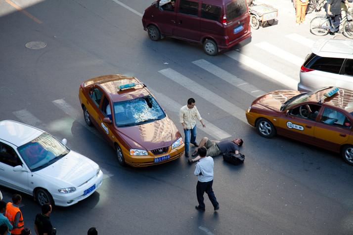 Por qué ser atropellado en China es lo peor que te puede pasar
