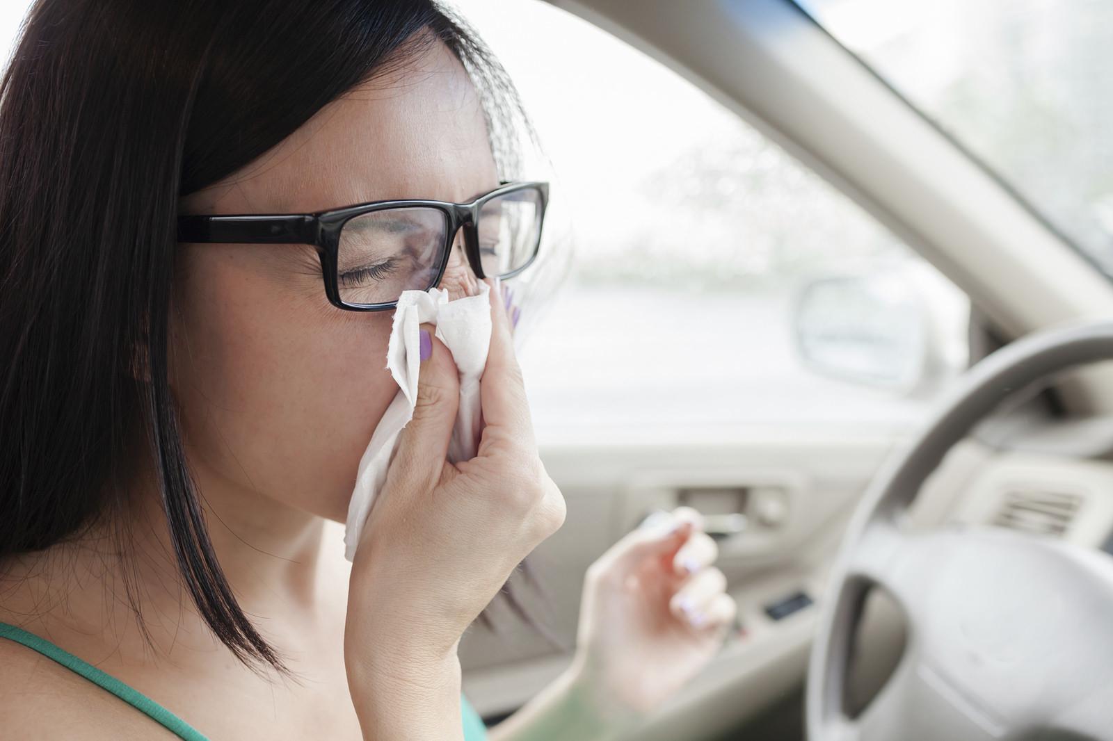 Llegan las alergias: cómo  saber qué medicamentos son incompatibles con la conducción