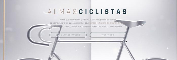 """""""Almas ciclistas"""", la nueva campaña para concienciar sobre la siniestralidad ciclista"""