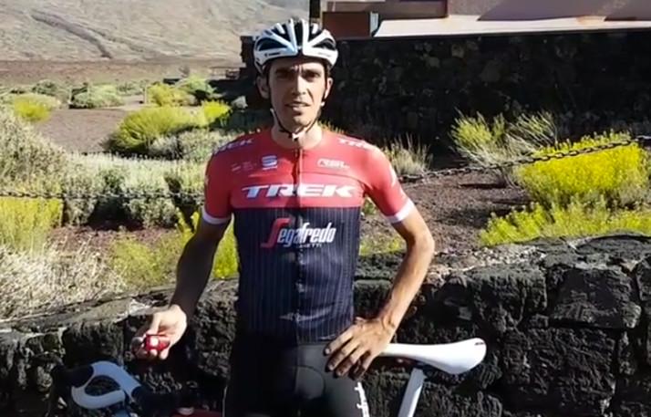 Alberto Contador te recuerda que un metro y medio salva la vida