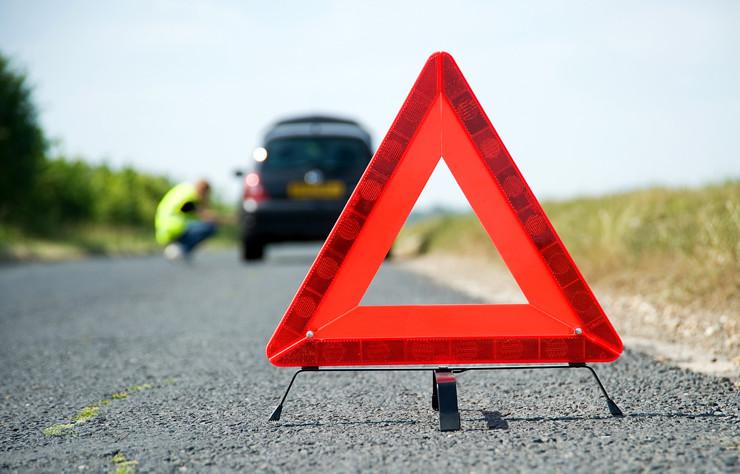 Cómo colocar los triángulos de emergencia correctamente