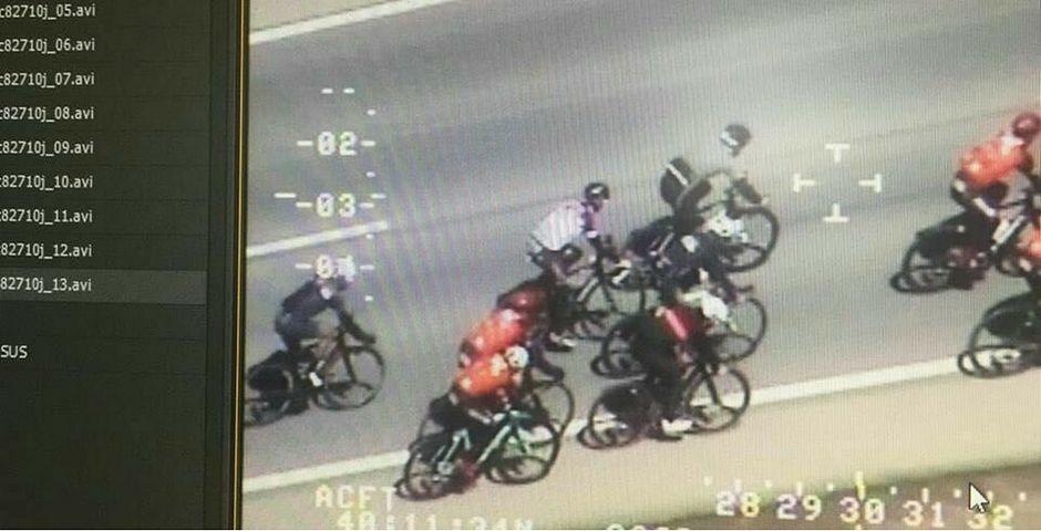 Atención grupos de ciclistas: circular incorrectamente en carretera es motivo de multa