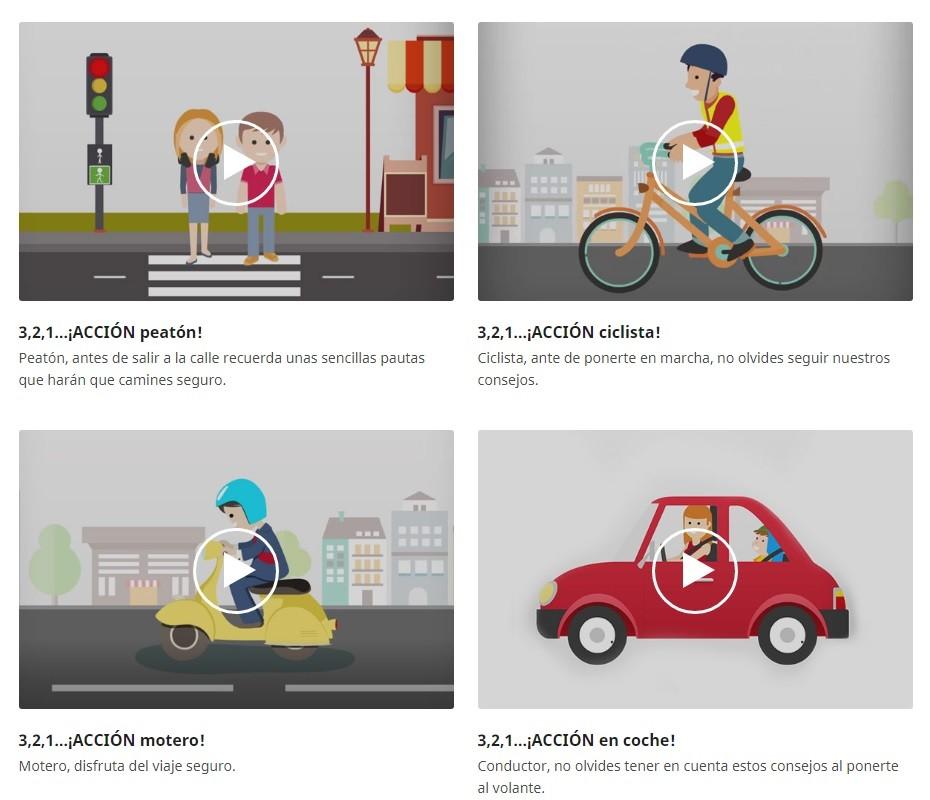 La seguridad vial explicada en vídeos: conoce el canal YouTube de la Fundación MAPFRE