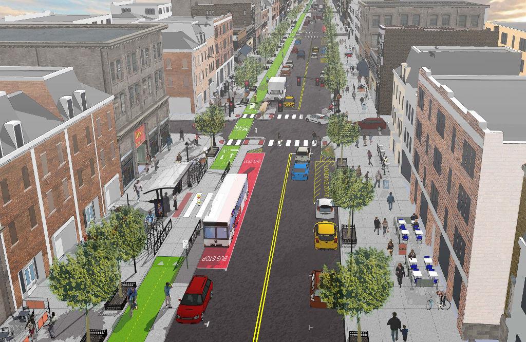 La calle perfecta para el ciudadano no tiene por qué ser peatonal: así es una Calle Completa
