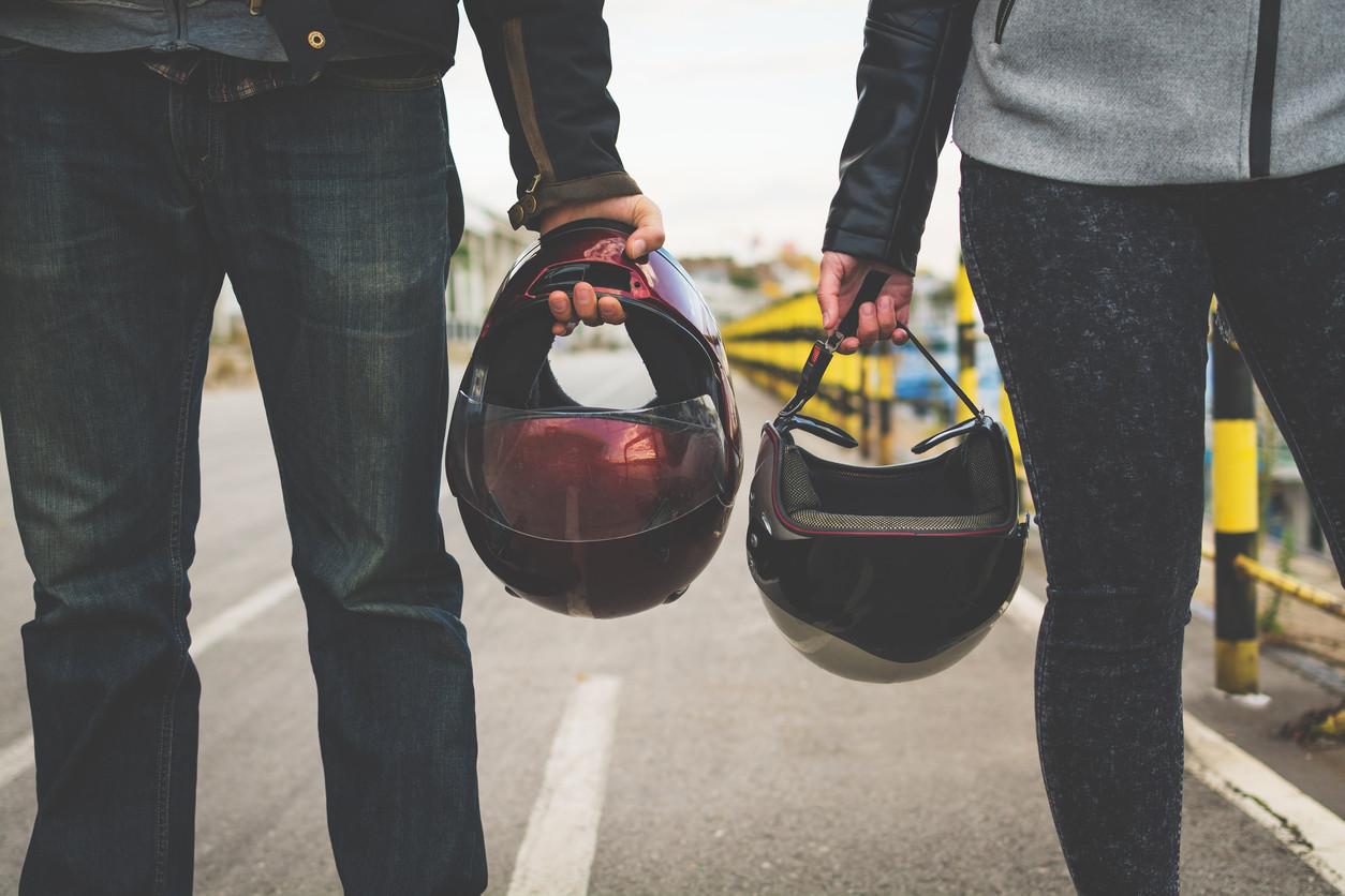 Los tres tipos de casco y las tres formas de proteger la cabeza