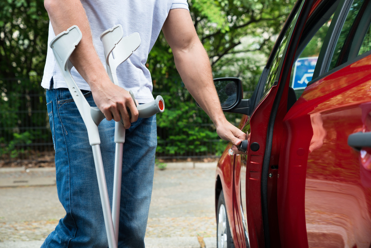 Coche adaptado a discapacitado