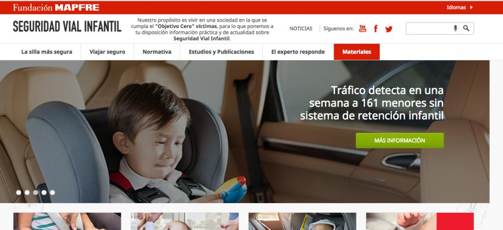 seguridad vial infantil