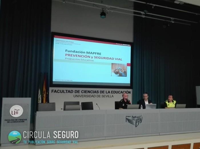 El educador vial protagonista de las Jornadas de Educación Vial en Sevilla