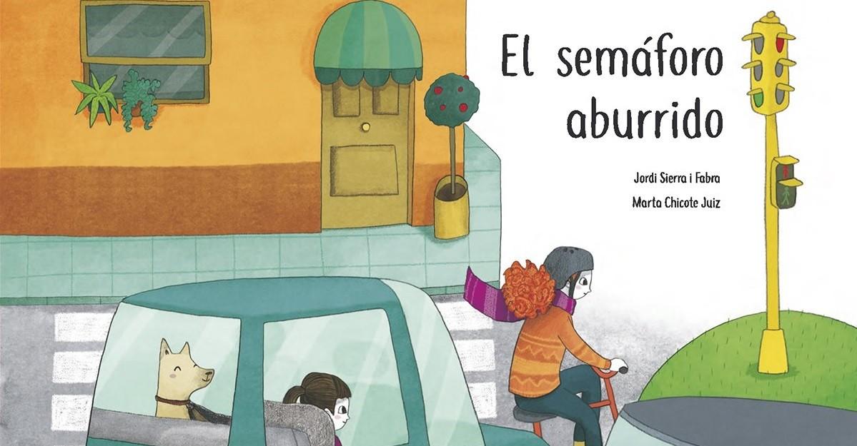 El semáforo aburrido, un cuento infantil para el uso de sillitas infantiles