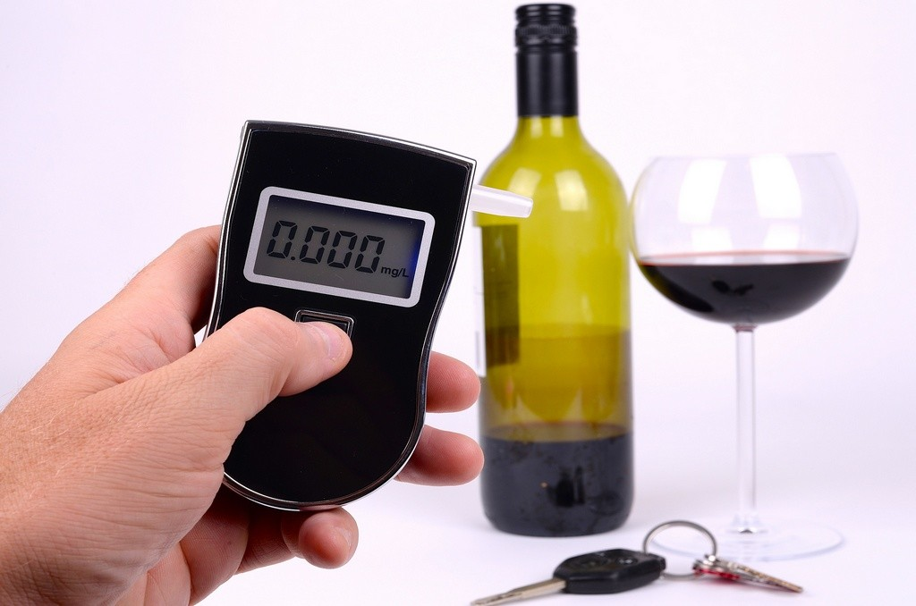 Medición alcohol en sangre