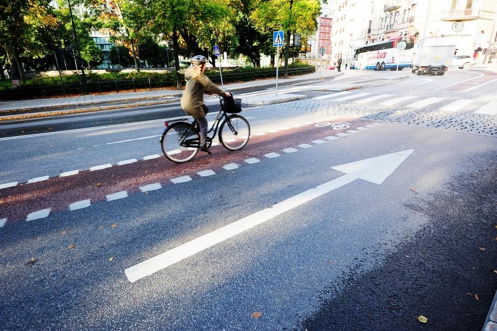 Uso del casco en bicicleta