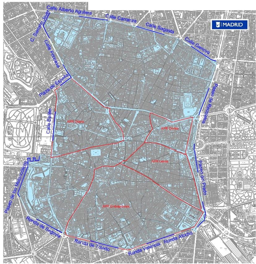 Restricciones Tráfico Madrid Mapa.Asi Funciona Su Area Cero Emisiones Que Coches Podran Entrar