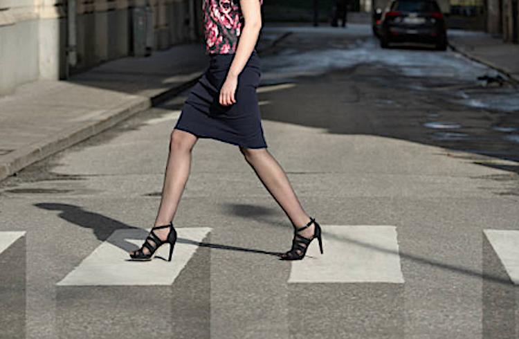 Un paso de peatones en 3D para luchar contra los atropellos